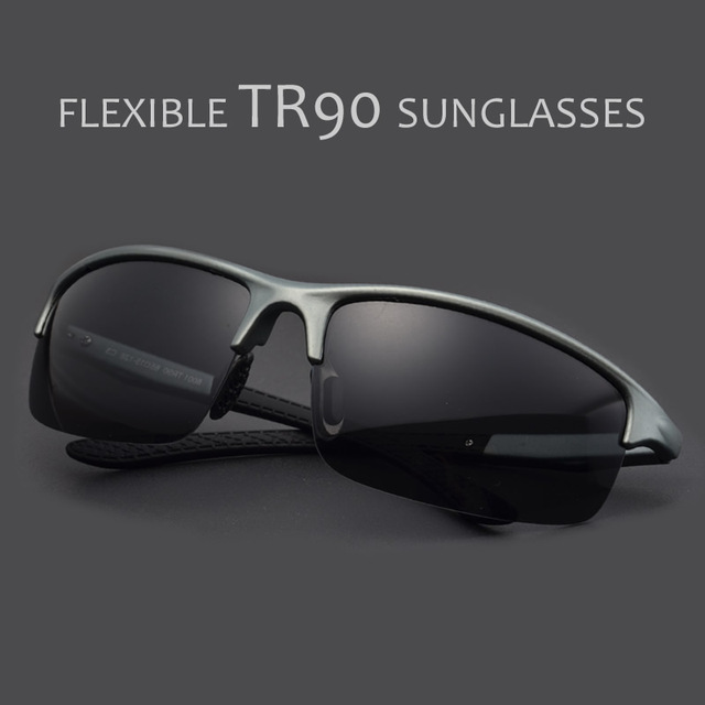POLARSNOW TR90 Polarized Sunglasses Sports Fishing Sun Glasses For Men Brand Designer Eyewear High Quality Oculos Masculino