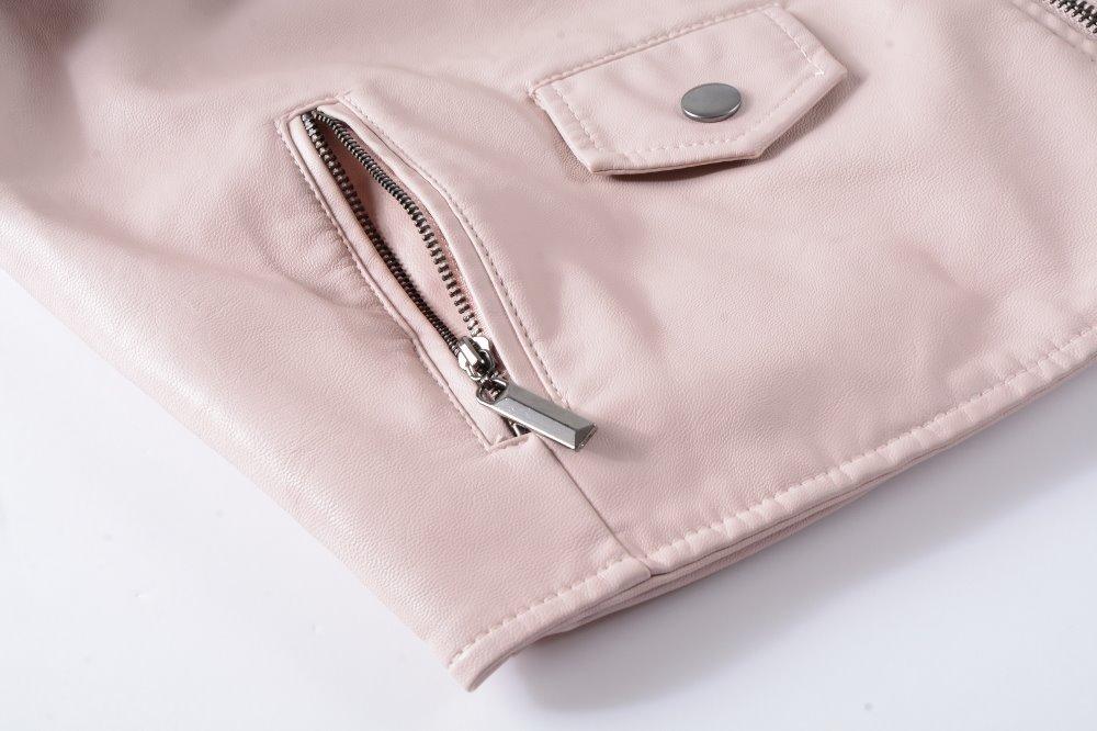 Neue 2019 frauen winter herbst neue kleidung marke mode schlank rosa - Damenbekleidung - Foto 5