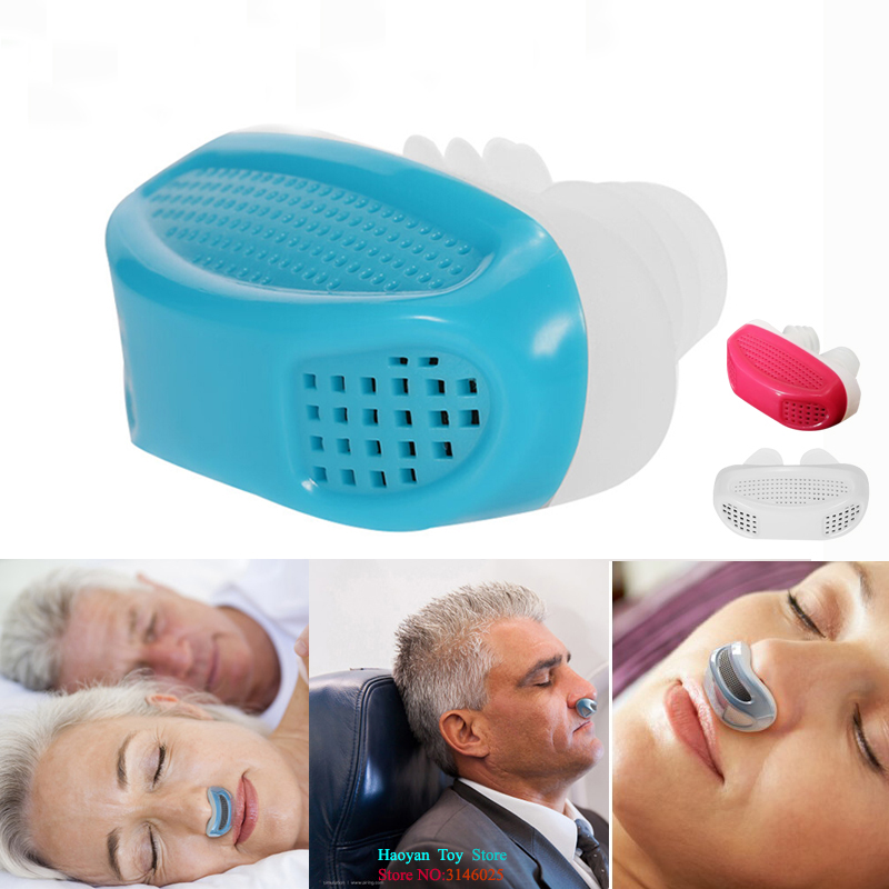 PM2.5 Patent CPAP Snoring Device Anti Snore Apnea Ventilation Nose Breathing Apparatus Nasal Congestion Clean Air Purifier Toy