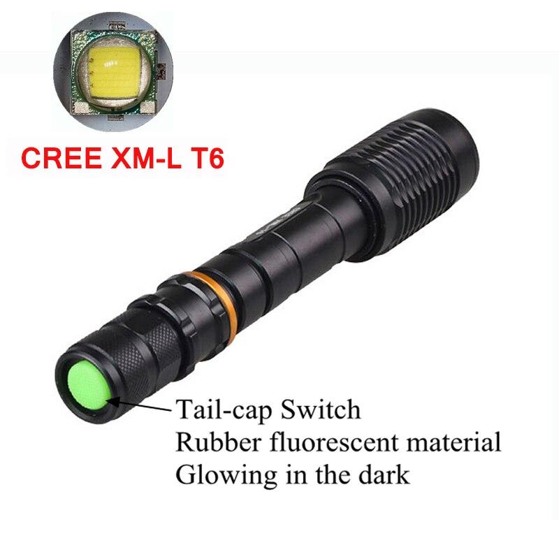 New 5000 Lumen Lantern Rechargeable For 18650 XM-L T6 Super Bright LED Tactical Lamp LED Flashlight Torch Lanterna Tatica rechargeable flashlight led torch xm l t6 xm l2 waterproof 3800 lumen 5 mode lanterna camping flashlight lamp batteries 18650