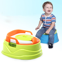 Multi functional baby safety pedestal pan,toilet seat potty with 3 colors