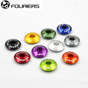 FOURIERS Bicycle Headset Fork Top Cap TC-S006 MTB Mountain Bike Aluminium Alloy External Headsets Bicycle Part Fit on 1-1/8 Fork
