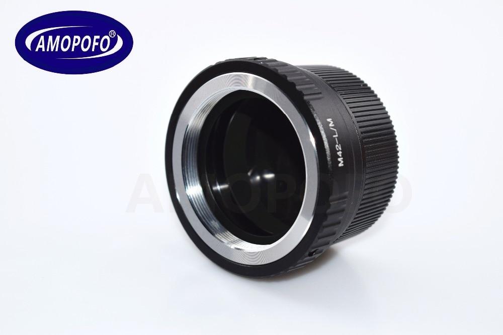 TECHART LM-EA 7 üçün M42 vintli lens üçün Leica M L / M M9 M8 - Kamera və foto - Fotoqrafiya 4