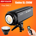 Free DHL!Godox SL-200W 200Ws 5600K Studio LED Continuous Photo Video Light Lamp w/ Remote