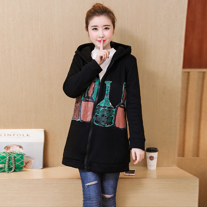 1763b10a89982 Maternity Coats Autumn Winter Clothes for Pregnant Women Thicken Warm Jacket  Loose Plus Size Pregnancy Tops Outwear M-3XL C128 - aliexpress.com -  imall.com