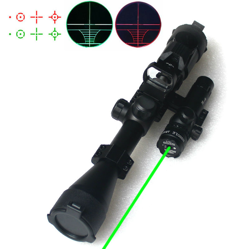 ФОТО New 3in1 Hunting Riflescopes Tactical Optics Reflex Holographic Red Green Dot Laser Sight Scope With Mount For Shooting