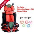 Hot portátil assentos de carro do bebê, Assento de carro infantil para o bebê 9 - 25 KG e 9 meses a anos com frete grátis
