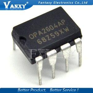 Image 3 - 5 sztuk OPA2604AP DIP8 OPA2604A DIP OPA2604 DIP 8 2604AP podwójny FET wejście, niewielkie zniekształcenia wzmacniacz operacyjny
