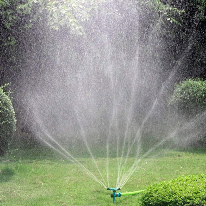 Lawn Sprinkler Automatic 360° Rotating Garden Water Sprinklers Lawn Irrigation