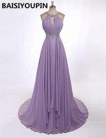 Abendkleider Lang Crystal 2019, бесплатная доставка, дешевые вечерние платья, Сексуальные вечерние платья с низким вырезом на спине