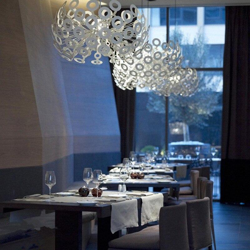 Modern Chandelier LED The dandelion pendant vintage indoor light living dining lighting decoration lamp light fixture AC110-265V