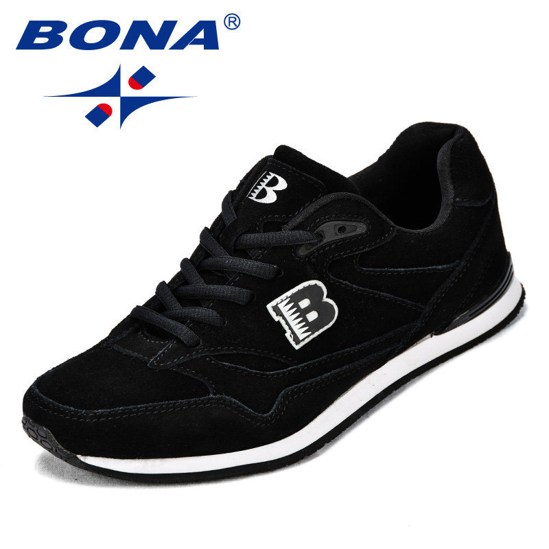 Image 3 - BONA New Classics Style Women Running Shoes Suede Leather 