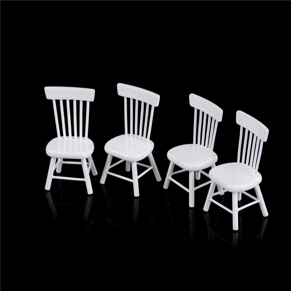 112 Dollhouse Dining Room Furniture 5pc Set 1 Dining Table and 4 Chairs /&