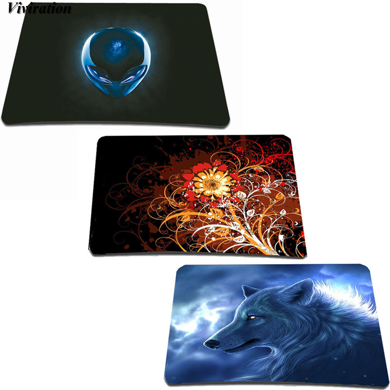 Top Selling High Quality 210x180mm Rubber Mouse Pad Mat Viviration Computer Mouse Mat For Csgo Overwatch Dota2 Gaming Mouse Pad