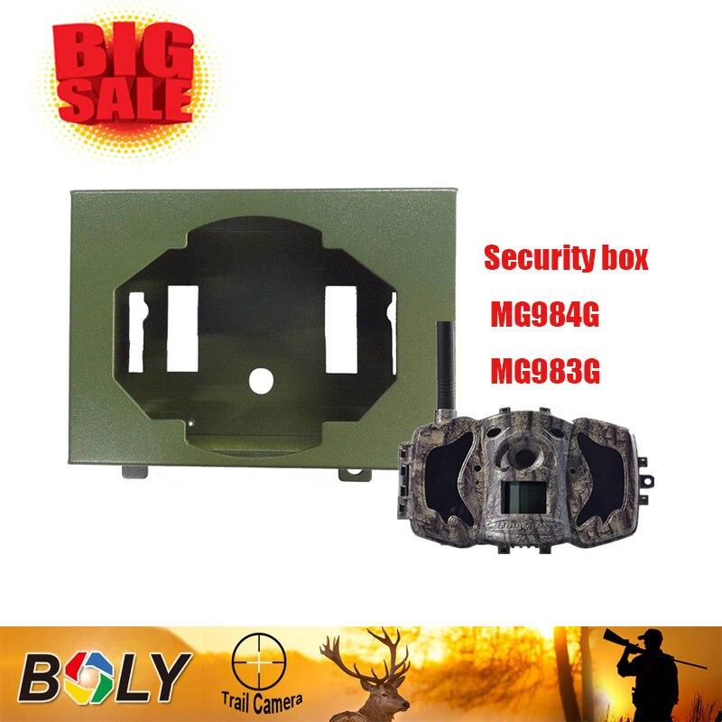 Bolyguard caméra de chasse coffre de sécurité MG984G-983G en acier inoxydable sauvage caméra accessoires de chasse pièges photo étui pour appareil photo