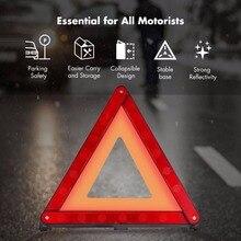 MYSBIKER Car Vehicle Emergency Breakdown Warning Sign Triangle Reflective Road Safety