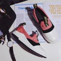 New Spring Summer Brand Women Flats Casual Shoes Slipony Moccasin Handmade Ladies Running Walking Thick Bottom
