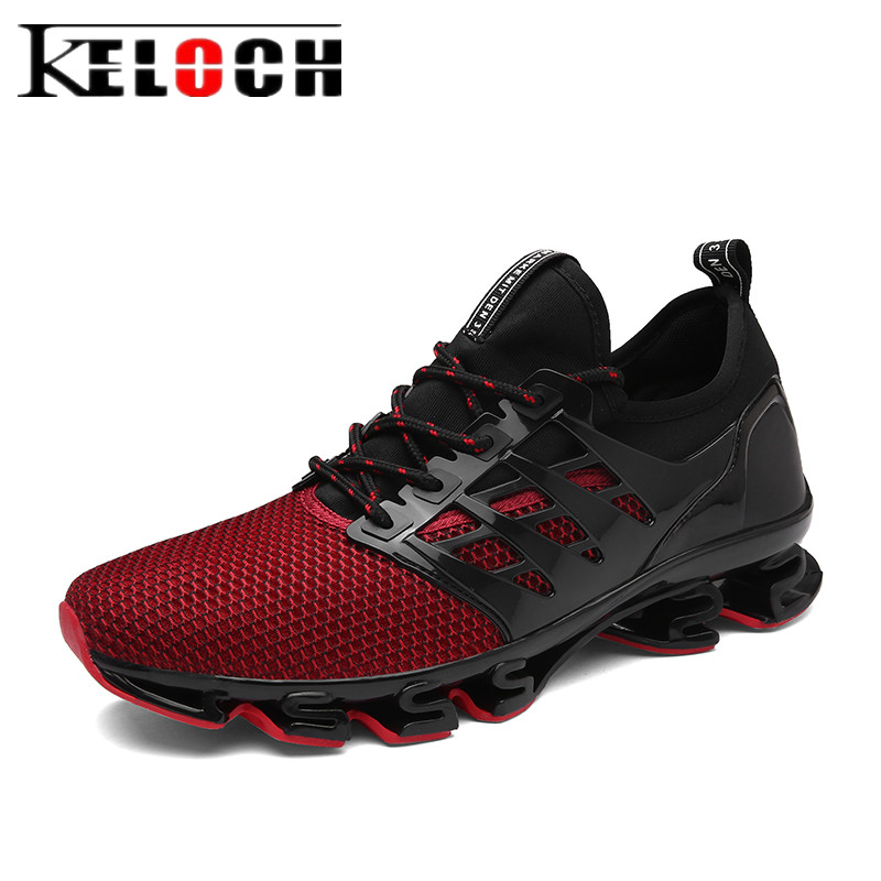 Keloch 2017 Summer Running Shoes Men Outdoor Authentic Trainers Male Comfortable Jogging Sneakers Men Zapatillas Deporte Mujer new style men running shoes outdoor jogging training shoes sports sneakers men spring autumn zapatillas deportivas trainers