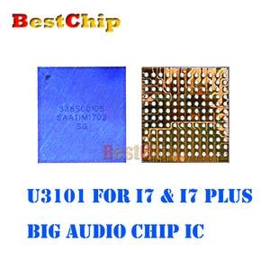 Image 3 - BestChip 100% New 5pcs/lot U3101 for iphone 7 7plus big main audio codec ic chip CS42L71