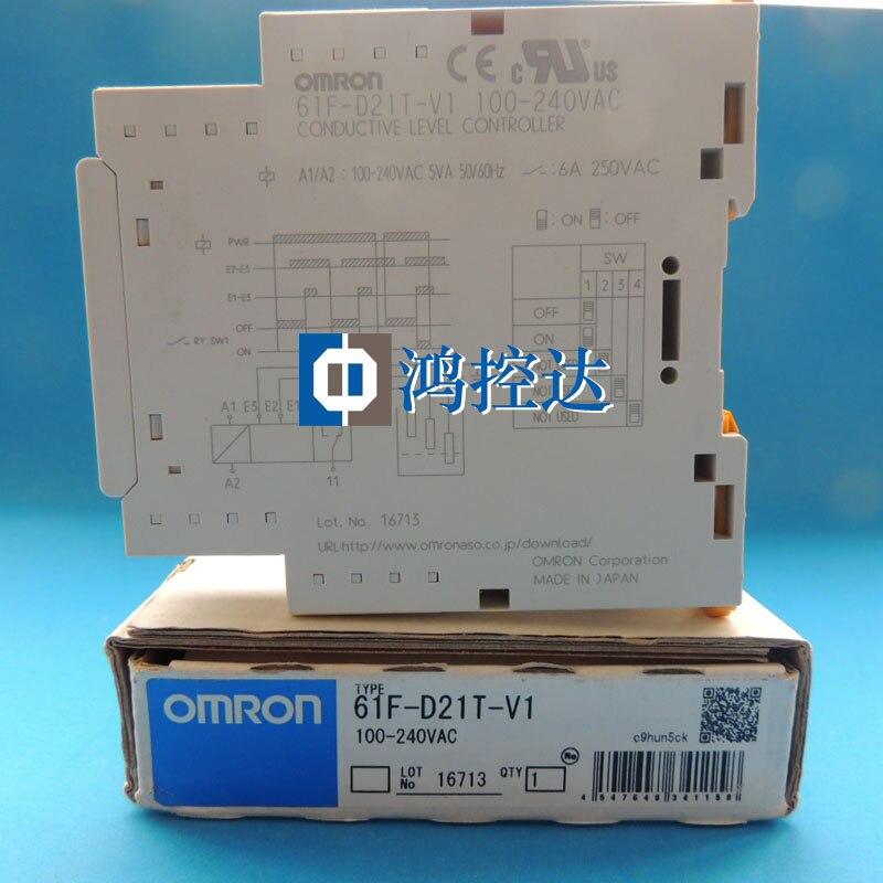 Garantie d'un an pour le nouveau commutateur de niveau Ohm d'origine 61F-D21T-V1 AC100-240V