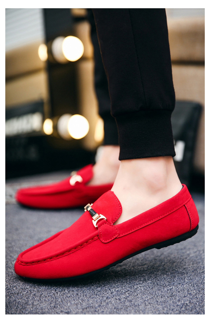 HTB1QpomajnuK1RkSmFPq6AuzFXaF Spring Men Casual Shoes Fashion Peas Driving Male Shoes Adult Lazy Men Sneakers Slip on Loafers Man Walking Footwear Big Size 46