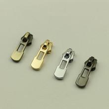 50 sztuk za dużo cztery kolory chiny hurtownia sklep internetowy torba metalowa części moda na zamek błyskawiczny Ornament metalowy akcesoria bagażowe na zamek błyskawiczny tanie tanio Rafarad zipper Fashion Zipper