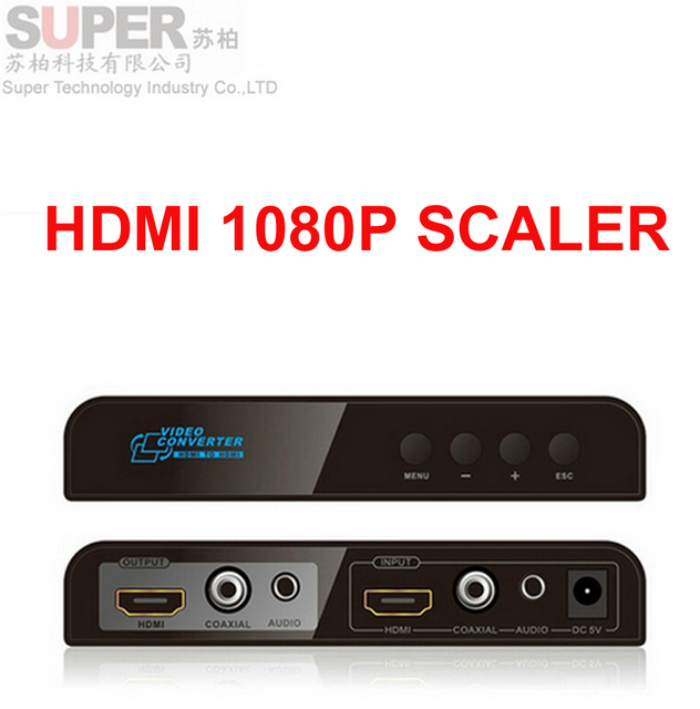 LKV323 Coaxial HDMI to HDMI Scaler w/ down&up scaling funtion coaxia&stereo audio out HDMI Audio HDMI Audio Mixture adapter