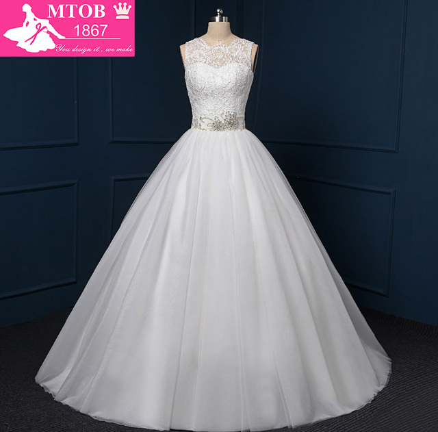 Shopping Sales Online A Line China Lace Wedding Dresses Robe De ...