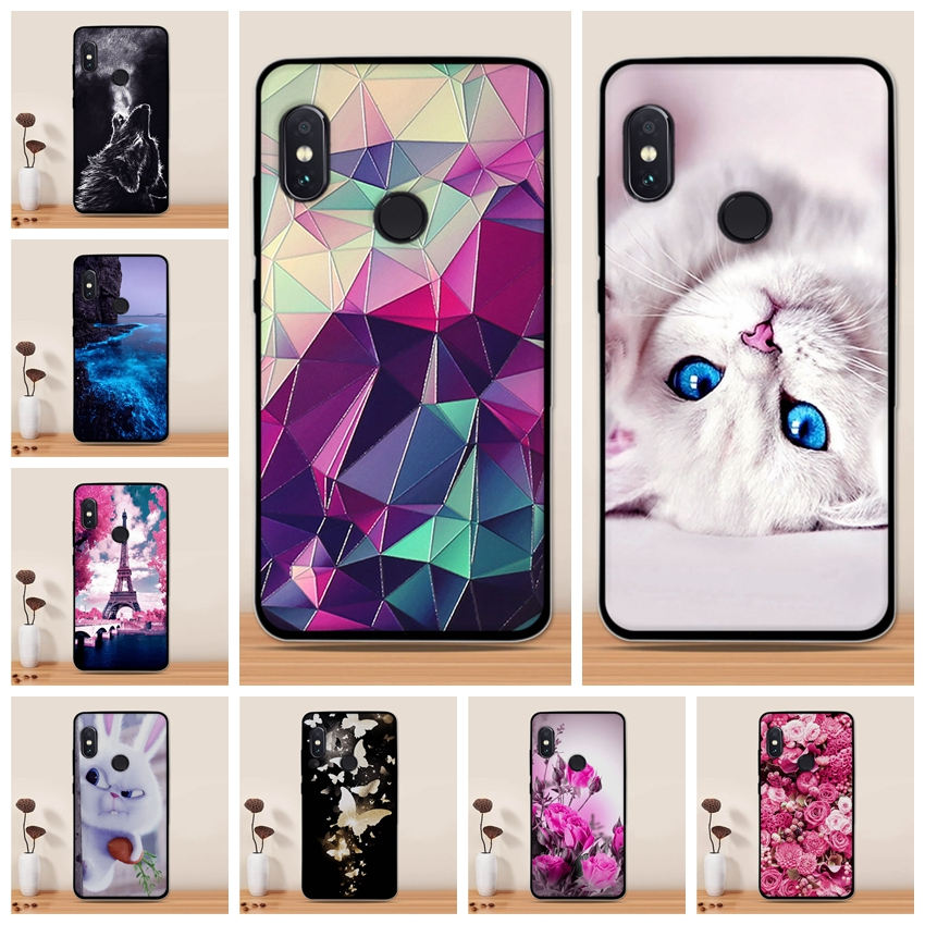 Soft Case For Xiaomi Redmi Note 5 Case Siliocne TPU Cover for Xiaomi Redmi Note 5 Pro Case Cover For Redmi Note 5 Pro Cover