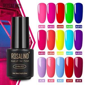 ROSALIND Gel Nail Polish Neon