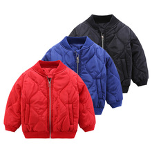 Baby Boys Clothes Boy Thick Baseball Jackets Coats Toddler Kids