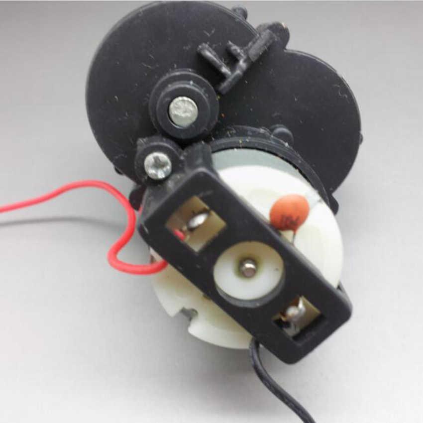 260 DC motor 4mm çap aks: Eksenel uzunluğu: 34mm 2200 rpm, DC 1.5 V yüksek hızlı dişli Motor oyuncak modeli için