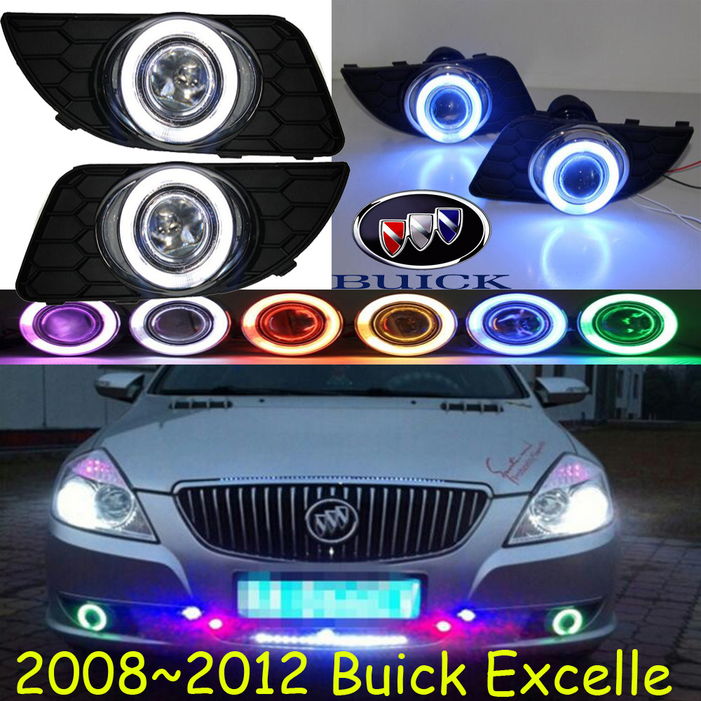 Excell fog light LED,2008~2012;Free ship!Excell daytime light,2ps/set+wire ON/OFF:Halogen/HID XENON+Ballast, Excell bqlzr dc12 24v black push button switch with connector wire s ot on off fog led light for toyota old style