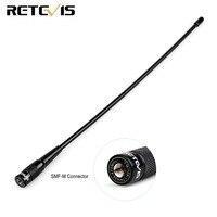 אנטנה עבור Retevis RHD-771 SMA-M רדיו אנטנה Dual Band 144/430 MHz עבור Retevis TYT MD-380 / UV8000D Woxun UV8D / UV9D שני הדרך רדיו C9030M (1)