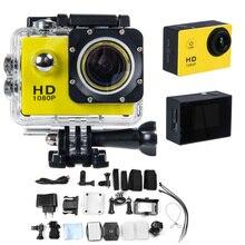 Nouvelle Arrivée 1.5 pouce LTPS LCD 1080 P HD DV 12MP SJ4000 Action Camera Plongée 30 M Étanche GO Style Pro Caméra Sport Extrême DV