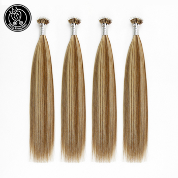 "Fairy Remy Hair 16""-22"" Micro Bead Nano Rings Remy Human Hair Piano Color #6/16 Nano Tip Hair Extension 40g Per Package 0.8g/"