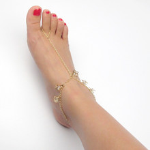 Summer Butterfly Charm Anklet Bracelet Gold Color Jewellery Women Girl Barefoot Anklet Fashion Jewelry Sexy Beach Foot Chain