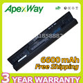 Apexway 9 CELL 6600mAh 11.1v Laptop Battery 5YRYV 8WXNX 9JJGJ JKVC5 NKDWV TRJDK 312-1019 For Dell Inspiron 1464 1564 1764