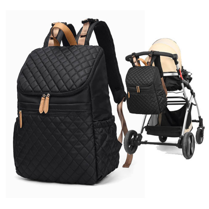Waterproof Mummy Diaper Bag Backpack  Mother Fashion Maternity Nappy Bags Large Capacity Baby Care Nursing Bag Three Colors