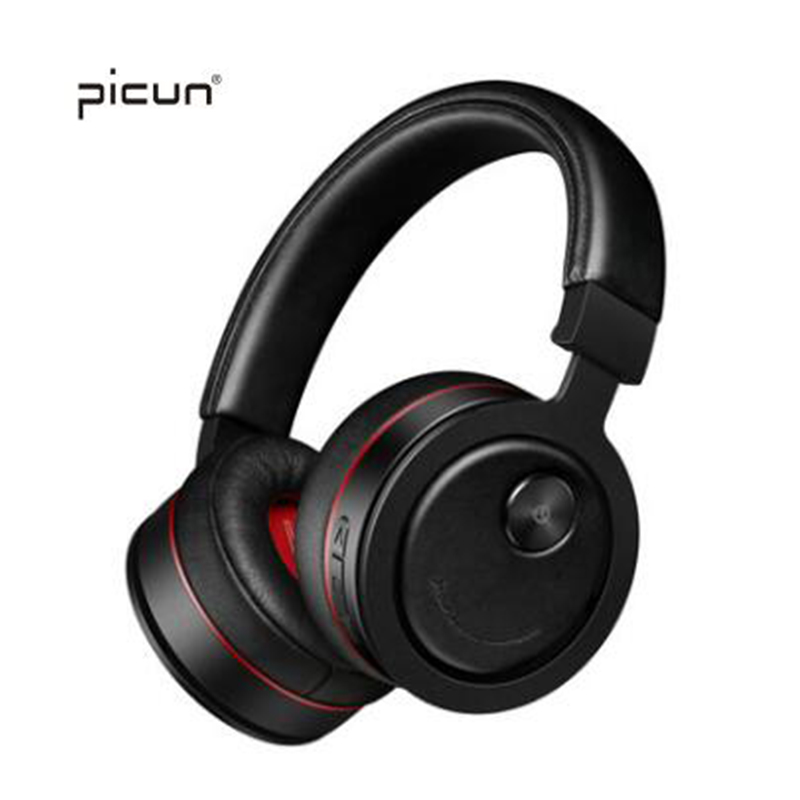 Picun P18 Wireless Bluetooth Headphones HIFi Headset Support TF Card With Microphone For iPhone Samsung Oneplus Xiaomi Huawei m320 metal bass in ear stereo earphones headphones headset earbuds with microphone for iphone samsung xiaomi huawei htc