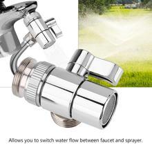 Кран-отводной клапан для ванной, кухни, раковины, латунный кран, разветвитель, переключающий клапан для шланга, адаптер M24
