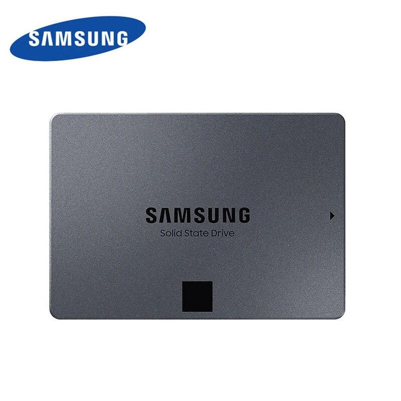 SAMSUNG SSD 860 QVO 1 to disque dur interne HDD 2.5 pouces SSD SATA3 V-NAND pour ordinateur portable ordinateur de bureau MLC disque dur 2 to