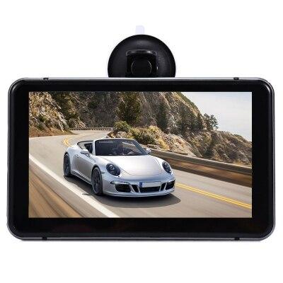 7 дюймов автомобиля Android DVR gps навигации сенсорный экран видео плеер Wi Fi HD 1080 P автомобильные регистраторы данных Поддержка Bluetooth