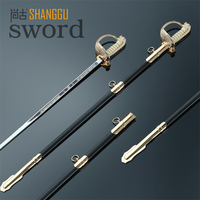 Etiquette & parade commander antique sword China 2015 latest Fencing