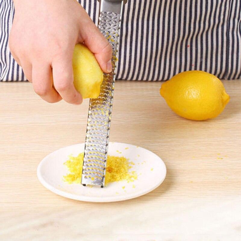 Multi-fonction en acier inoxydable citron fromage Zester légumes fruits éplucheur râpe trancheuse outils de cuisine râpe