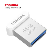 TOSHIBA USB 3.0 Flash Drive 32GB 64GB Pen Drive Metalen Mini Vinger Flash-geheugenstick 120 MB/S U schijf 2017 NIEUWE 128G(China)