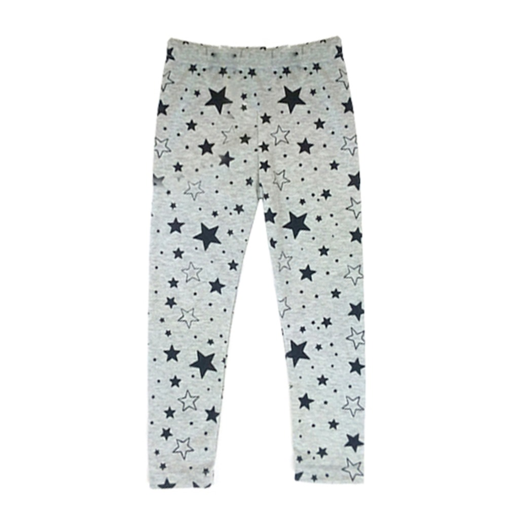17d050b7652a1 New Baby Girls Kids Skinny Toddlers Star Print Leggings Pants Trousers 2-7  Years
