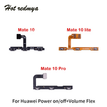 Side Button Flex Replacement Parts For Huawei Mate 10 Lite Pro Power on off Swtich Volume Key Sound Cable