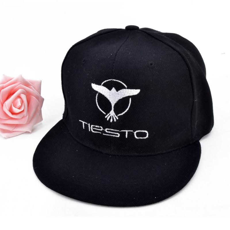 Горячие Remix DJ Tiesto вышивка письмо Кепки 2017 Remix музыка Тиесто диджей Лето Бейсбол Кепки hat