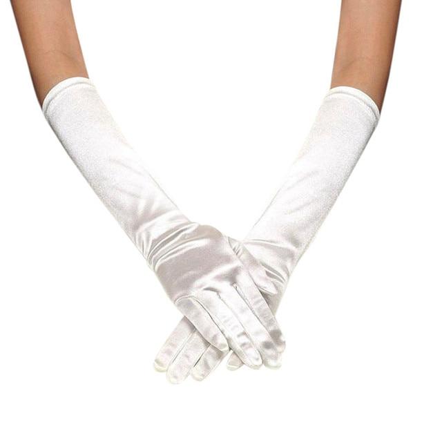 Satin Long Gloves Opera...